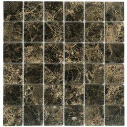 Мозаика - Мозаика Tessare 30х30х0,4см мрамор темный имперадор шт (L002-SF48), 0
