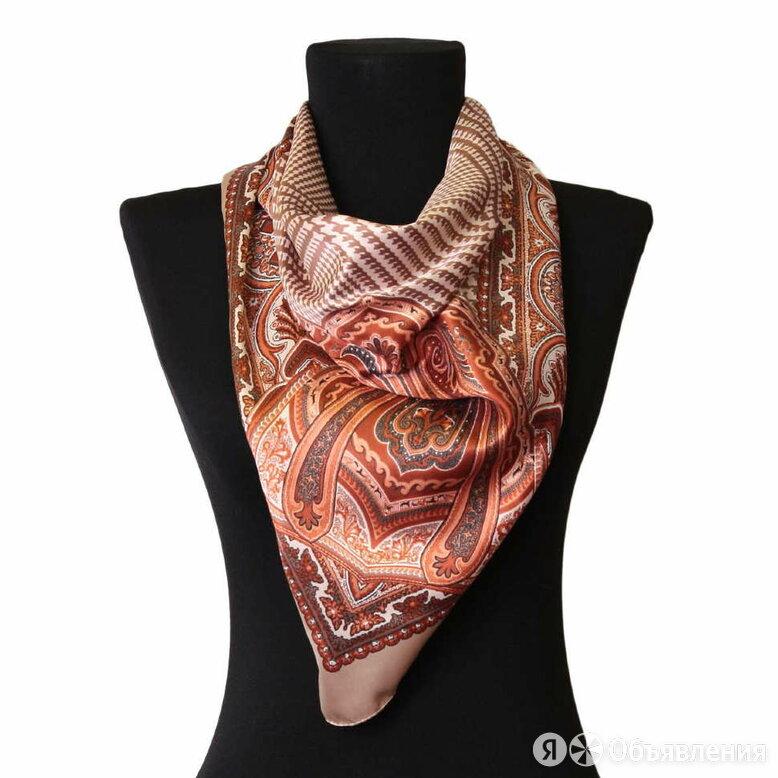 Стильный яркий платок 52463 по цене 1200₽ - Головные уборы, фото 0