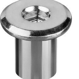 Шайбы и гайки - Гайка Эриксона с плоской головкой, M6x12мм, 5 кг…, 0