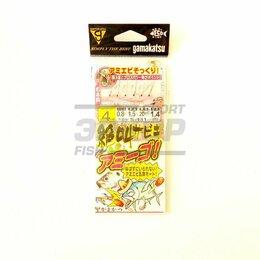 Приманки и мормышки - Снасть на зубаря Gamakatsu S-131 (x1), 0