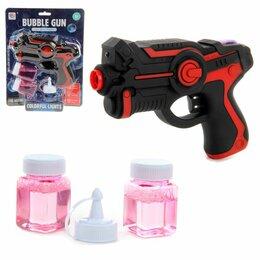 """Мыльные пузыри - Мыльные пузыри """"Пистолет"""" (цвет: красный), 0"""