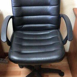 Компьютерные кресла - Кресло  кож/зам, черный,, 0