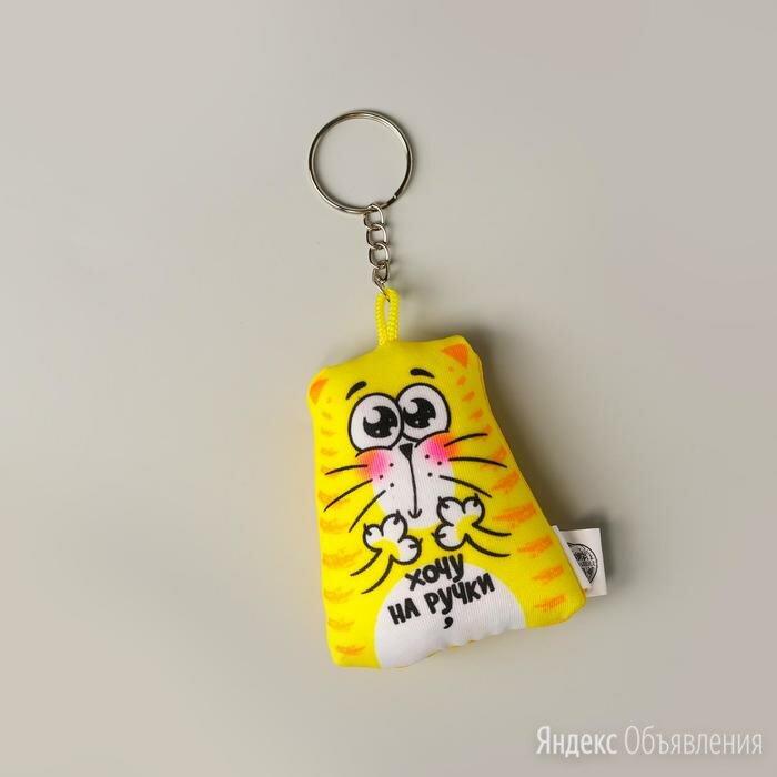 Брелок-антистресс «Хочу на ручки», 7 см по цене 248₽ - Брелоки и ключницы, фото 0