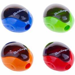 Мусаты, точилки, точильные камни - Точилка  пласт. с контейнером  Berlingo Round (36), 0