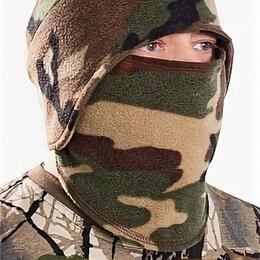 Головные уборы - Шапка-маска флис зеленый камуфляж Снегоход - БР-шапмф-15, 0
