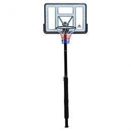 Стойки и кольца - Стационарная баскетбольная стойка DFC ING44P1, 0