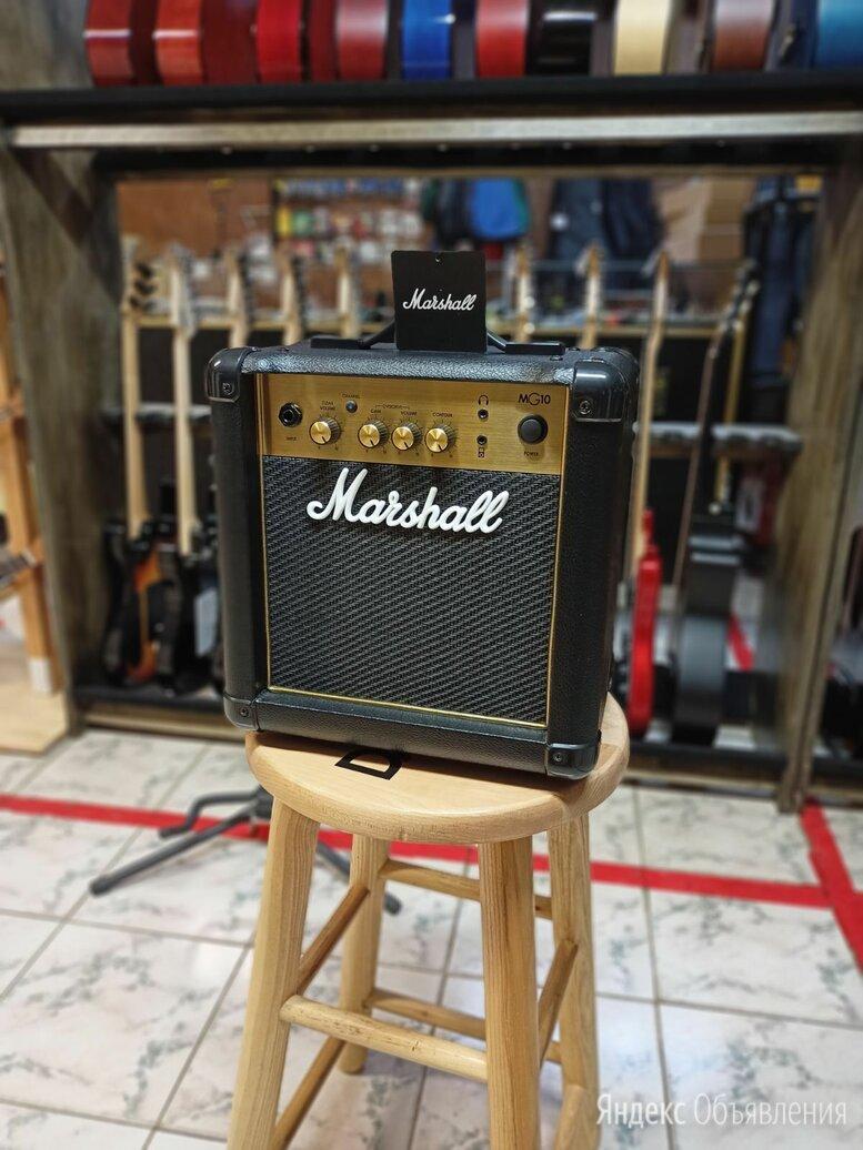 Комбоусилитель Marshall MG10G по цене 9300₽ - Гитарное усиление, фото 0
