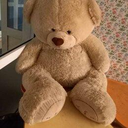 Мягкие игрушки - Плюшевые медведи (большой, средний и маленький, 140 см, 90 см и 60 см), 0