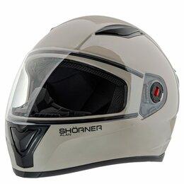 Спортивная защита - Шлем мото закрытый SHORNER FP907, 0