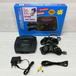 Ретро-консоли и электронные игры - Sega mega drive 2 118 игр, 0