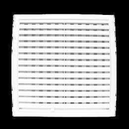 Вентиляционные решётки - Решетка 183х253   регулируемая   1825PРП   ЭРА, 0