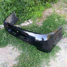Кузовные запчасти - Бампер задний черный на ладу гранту, 0