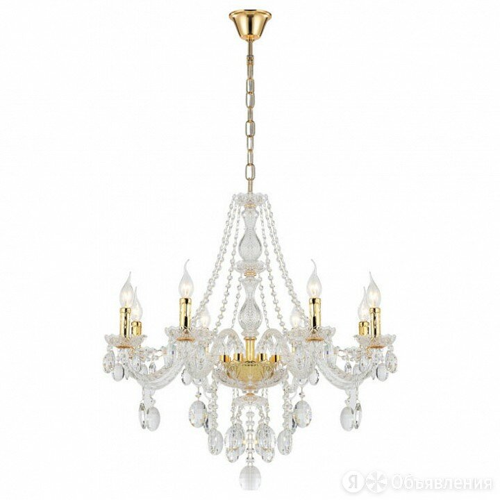 Подвесная люстра Benetti Limpido 2110 CRL-001-2110-08/C по цене 39172₽ - Люстры и потолочные светильники, фото 0