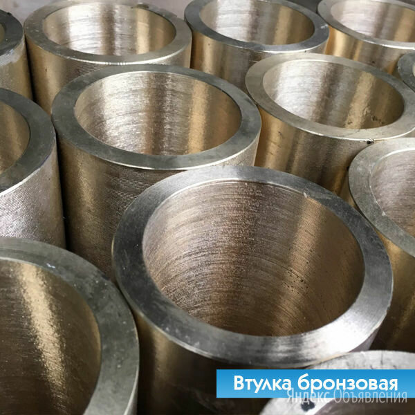 Втулка бронзовая 120х80х210 БрАЖН10-4-4 по цене 340₽ - Металлопрокат, фото 0