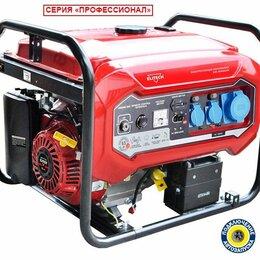 Электрогенераторы и станции - Генератор бензиновый Elitech БЭС 8000ЕAМ, 0