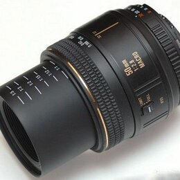 Объективы - Nikon AF Macro 50mm f/2.8 Sigma, 0
