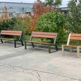 Скамейки - Скамейки, семьи, лавочки садово-парковые премиального качества из термососны, 0