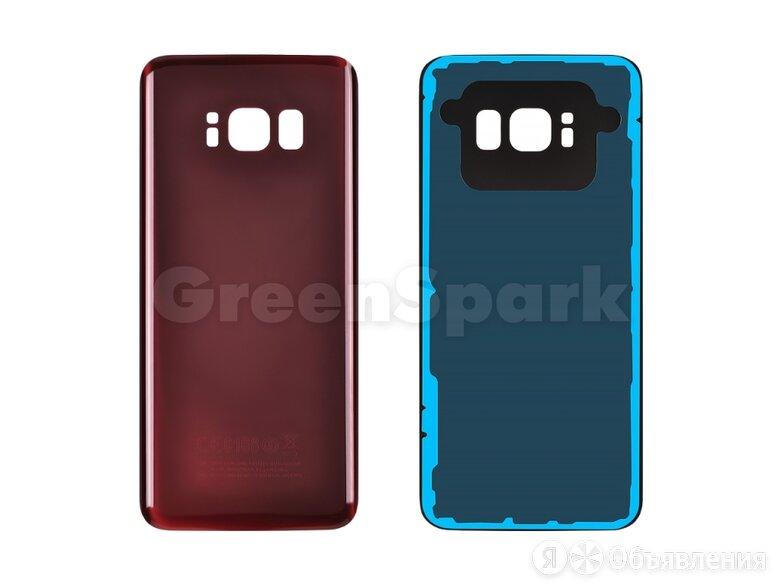 Задняя крышка для Samsung G950F Galaxy S8 (бордовый) по цене 300₽ - Корпусные детали, фото 0