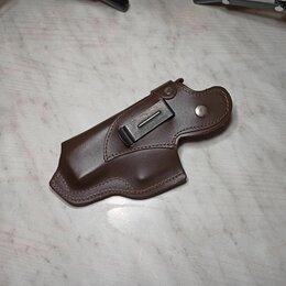 Кобуры - Кобура для Grand Power т-12 на клипсе коричневая, 0
