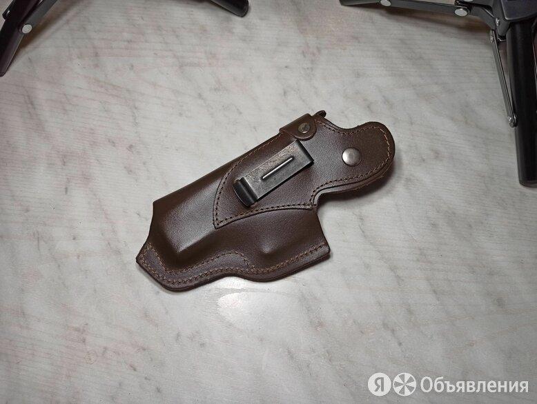Кобура для Grand Power т-12 на клипсе коричневая по цене 700₽ - Кобуры, фото 0