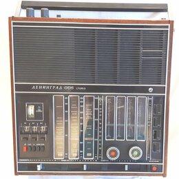 Радиоприемники - Радиоприемник Ленинград 006 1978 года с FM, 0