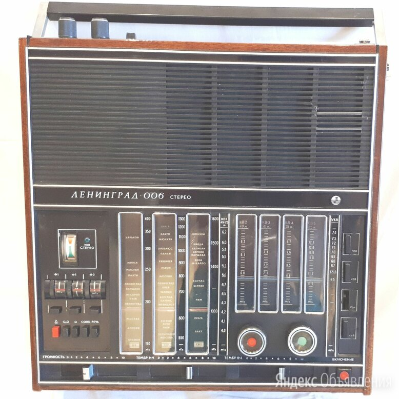Радиоприемник Ленинград 006 1978 года с FM по цене 4200₽ - Радиоприемники, фото 0