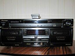 Музыкальные центры,  магнитофоны, магнитолы - Кассетная дека Pioneer CT-W606DR и Pioneer DVD…, 0