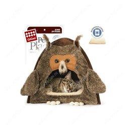 Лежаки, домики, спальные места - Домик для собак gigwi сова 38*38*40см. Доставка в пределах КАД бесплатно!, 0
