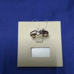 Комплекты - 9ян) Кольцо золото 585 арт.51051, 0