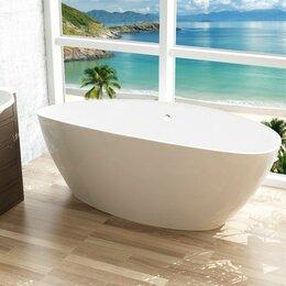 Комплектующие - Ванна Феличия W4 1560*700*560 (ванна+слив перелив+ сифон) белый Marrbaxx, 0