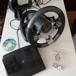 Рули, джойстики, геймпады - Игровой руль Defender Forsage GTR USB, 0