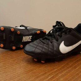 Обувь для спорта - Бутсы Nike Tiempo профессиональные 32 размер, 0