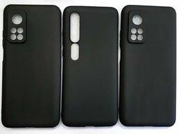Чехлы - Чехол черный матовый Xiaomi Mi10/Mi10T/Mi10T Pro., 0