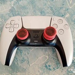 Рули, джойстики, геймпады - Беспроводной контроллер playstation 5 dualsense, белый, 0