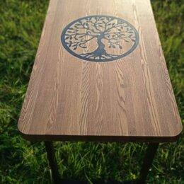 Столы и столики - Стол лофт.Дерево жизни.Массив Ясеня., 0