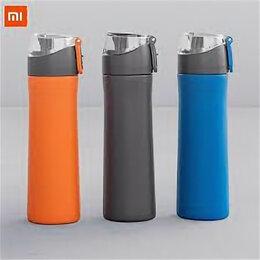 Бутылки - Бутылка для воды Xiaomi Fun Home Sports Cold Cup (500ml) (синий), 0
