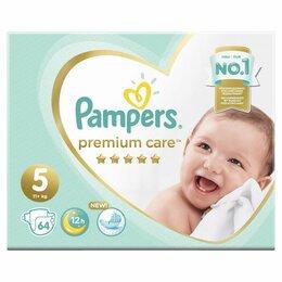 Подгузники - PAMPERS Premium Care Подгузники JUNIOR 11+    Коробка СК40%, 0