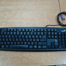 Клавиатуры - Клавиатура Genius проводная PS/2, 0