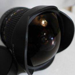 Объективы - Samyang 8mm f3.5 для CANON fish-eye cs, 0