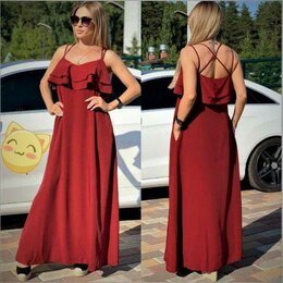 Платья - Алое Платье, 0