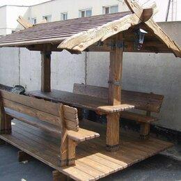 Готовые строения - Беседка деревянная под старину, 0