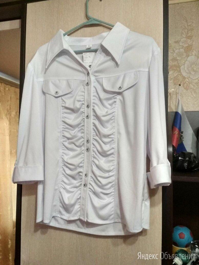 Новая белая блузка  по цене 600₽ - Блузки и кофточки, фото 0