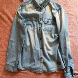 Рубашки -  Джинсовая рубашка для мальчиков, 0