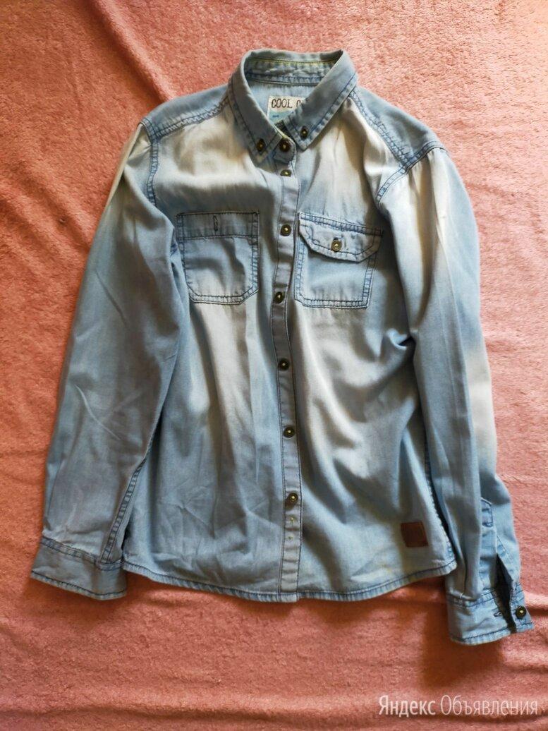 Джинсовая рубашка для мальчиков по цене 400₽ - Рубашки, фото 0
