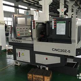 Токарные станки - Двухшпиндельный токарный станок с чпу CNC20Z-5, 0