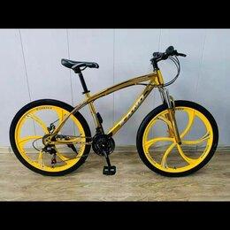 Велосипеды - Велосипед бмв золотого цвета, 0