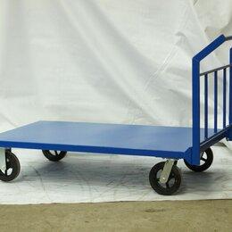 Оборудование для транспортировки - Тележка платформенная Усиленная ТПУ 1250*700 800кг, 0
