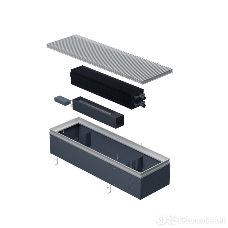 Встраиваемый конвектор Helios Alpha Double Air 250x180x1100 по цене 43270₽ - Встраиваемые конвекторы и решетки, фото 0