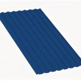 Кровля и водосток - Профнастил МП20 A Полиэстер 0,7 мм RAL 5005 Сигнальный синий, 0