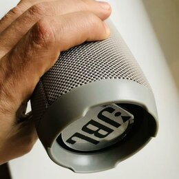 Портативная акустика - Портативная JBL колонка Чардж 3+ (серый), 0